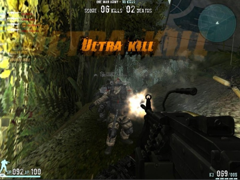 Pantallazo Combat Arms