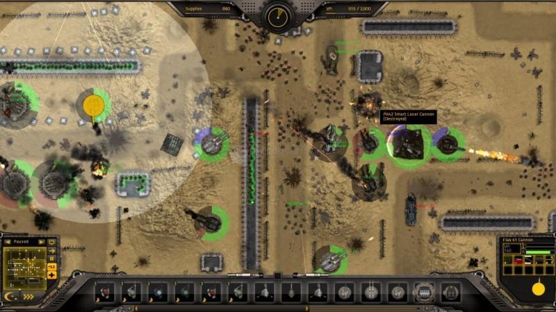 Pantallazo Gratuitous Tank Battles