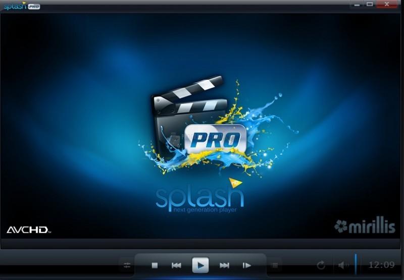 Pantallazo Splash Pro