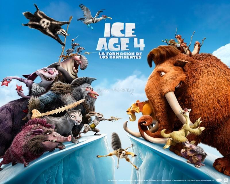 Pantallazo Ice Age 4: La formación de los continentes