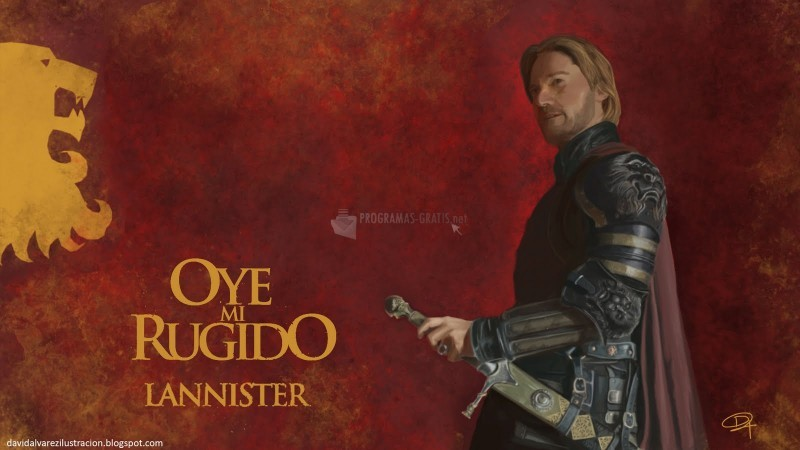 Pantallazo Juego de Tronos - Casa Lannister