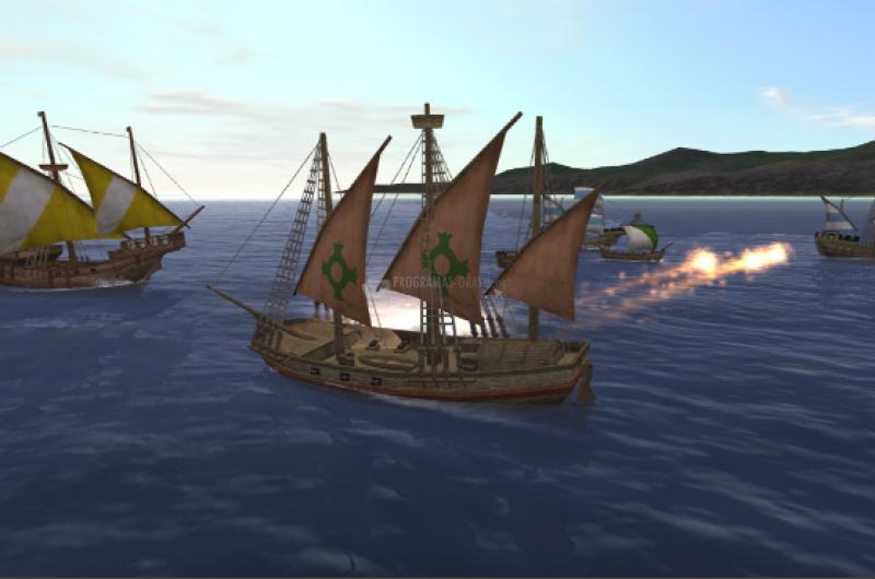 Pantallazo Uncharted Waters Online