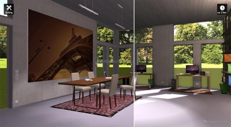 Pantallazo Roomeon 3D Planner