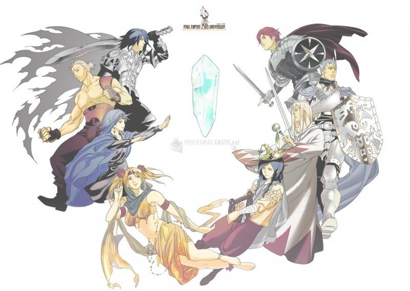 Pantallazo Final Fantasy Dimensions