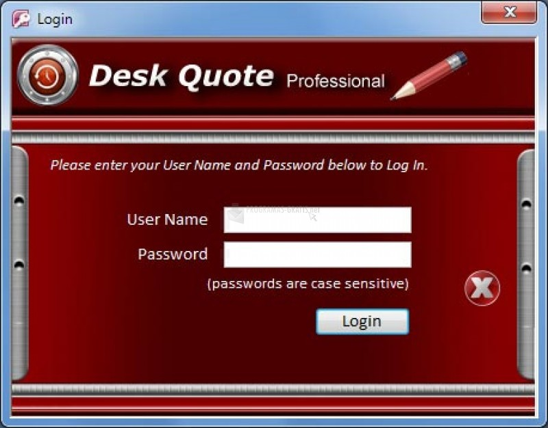 Pantallazo Desk Quote Professional Free