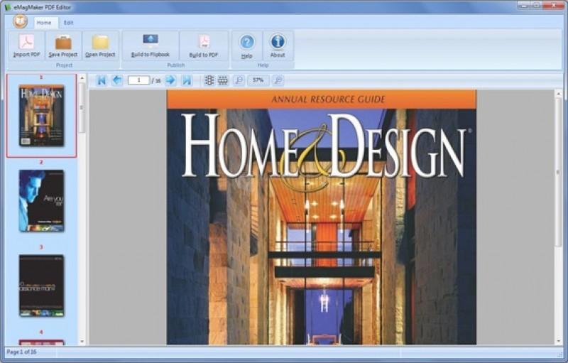 Pantallazo eMagMaker PDF Editor