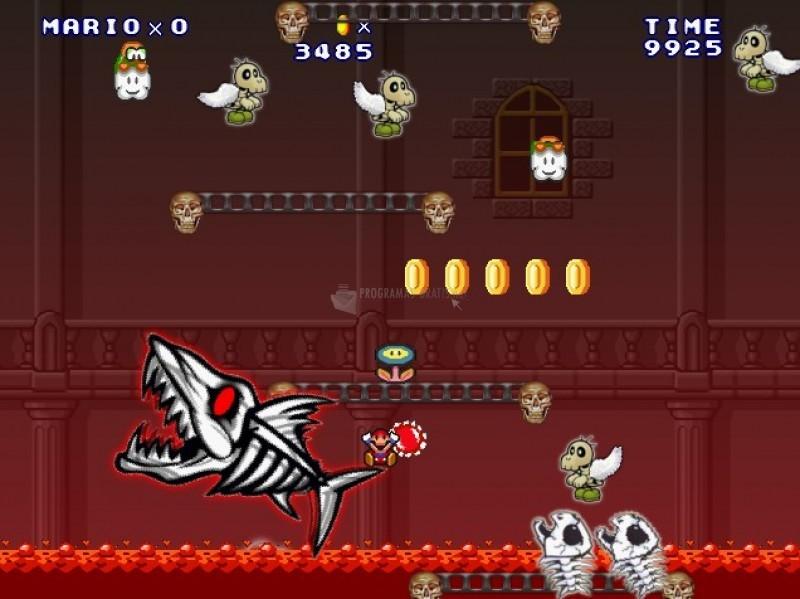 Pantallazo Super Mario Dark Dungeon
