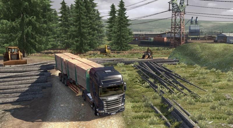 Pantallazo Scania Truck Driving Simulator