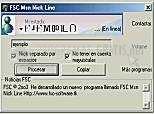 Pantallazo Msn Nick Line 95/98/Me