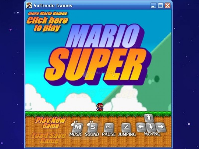 Pantallazo Mario Super
