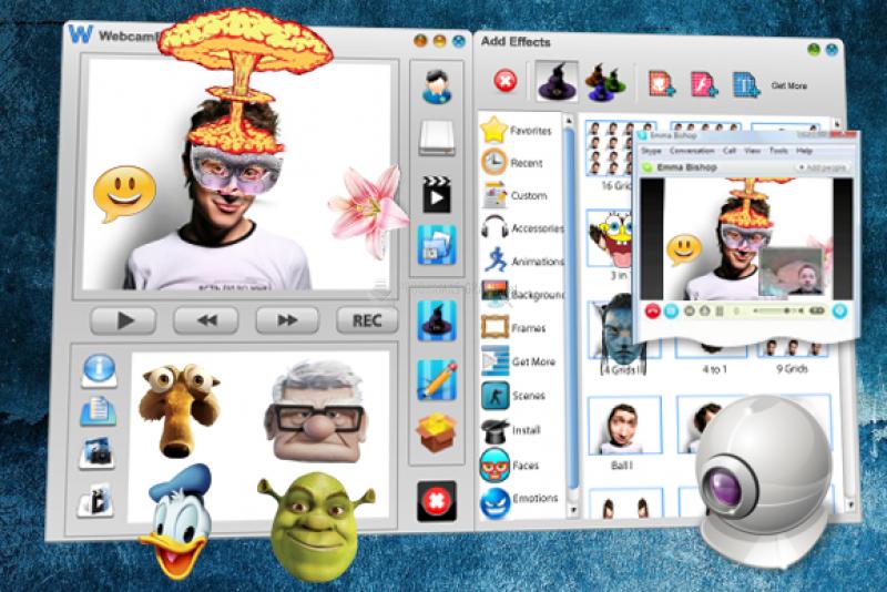 Pantallazo WebCam Effects