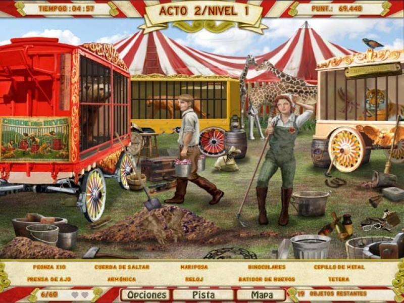 Pantallazo Runaway With The Circus