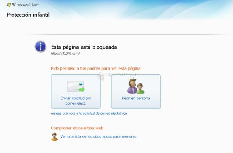 Pantallazo Windows Essentials 2012