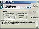 Pantallazo Msn Nick Line XP