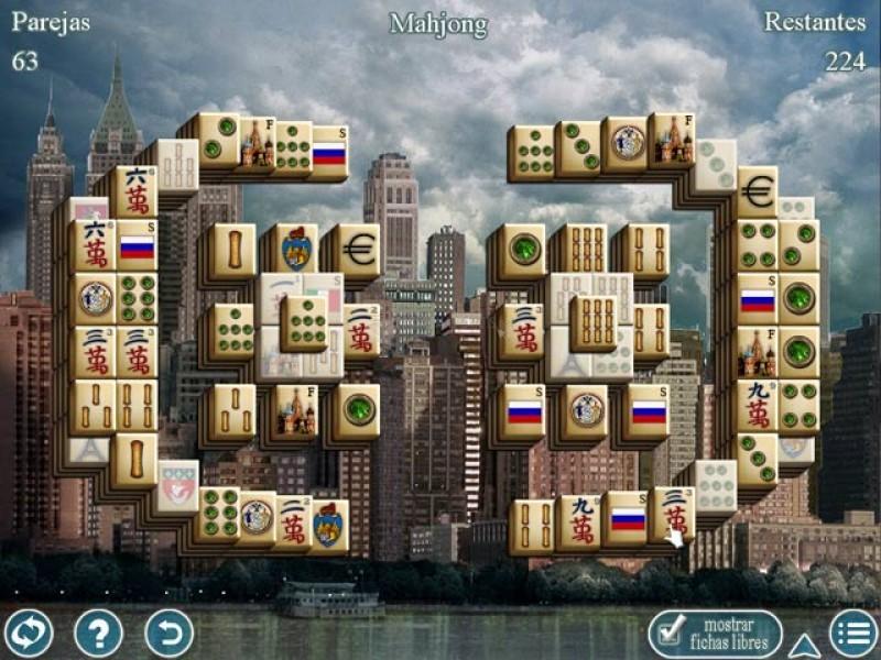 Pantallazo World Greatest Cities Mahjong