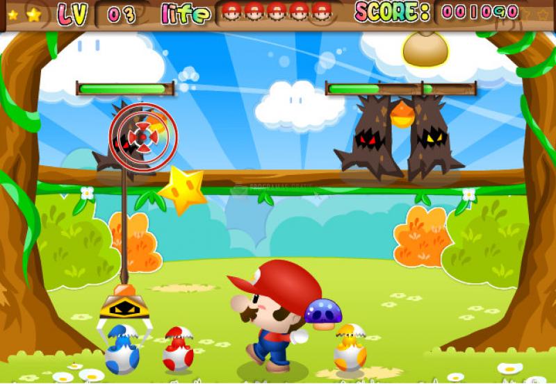 Pantallazo Super Mario vs Monsters