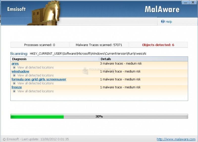 Pantallazo Emsisoft Online Armor Firewall