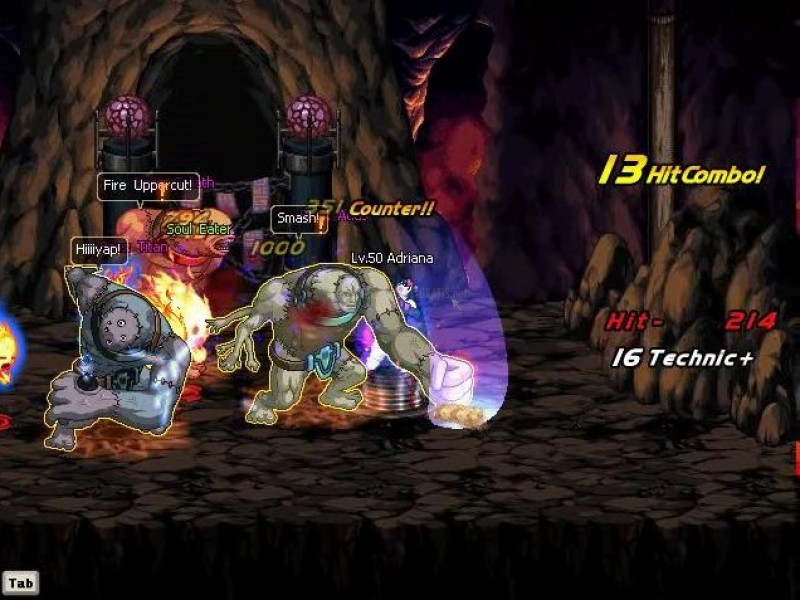 Pantallazo Dungeon Fighter Online