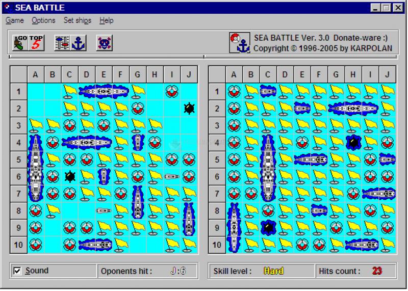 Pantallazo Sea Battle