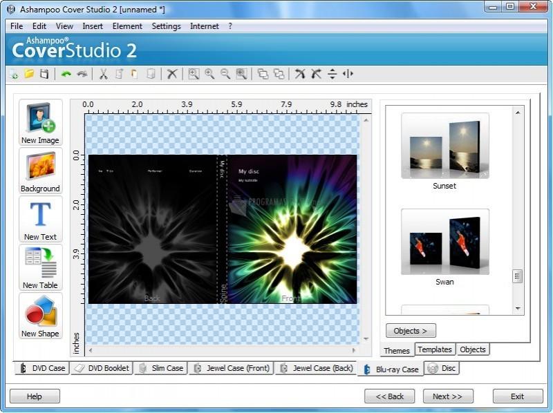 Pantallazo Ashampoo Cover Studio
