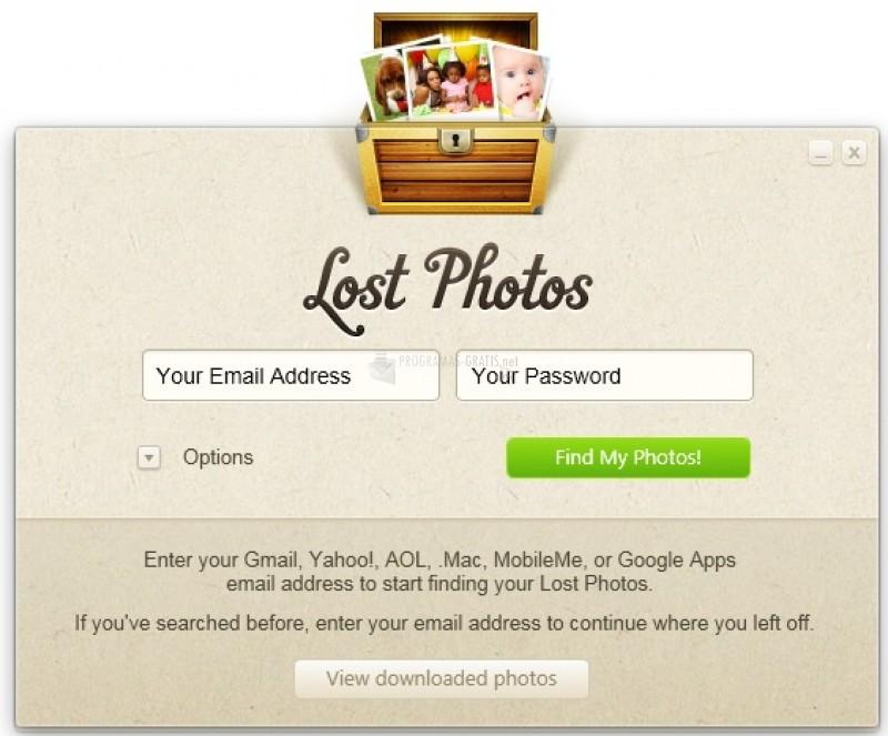 Pantallazo Lost Photos