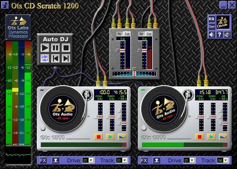 Pantallazo Ots CD Scratch 1200