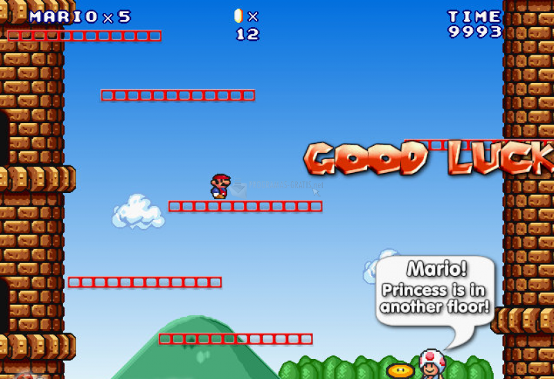 Pantallazo Super Mario Castle