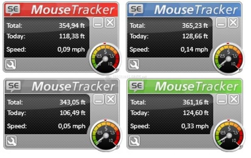 Pantallazo SuperEasy Mouse Tracker