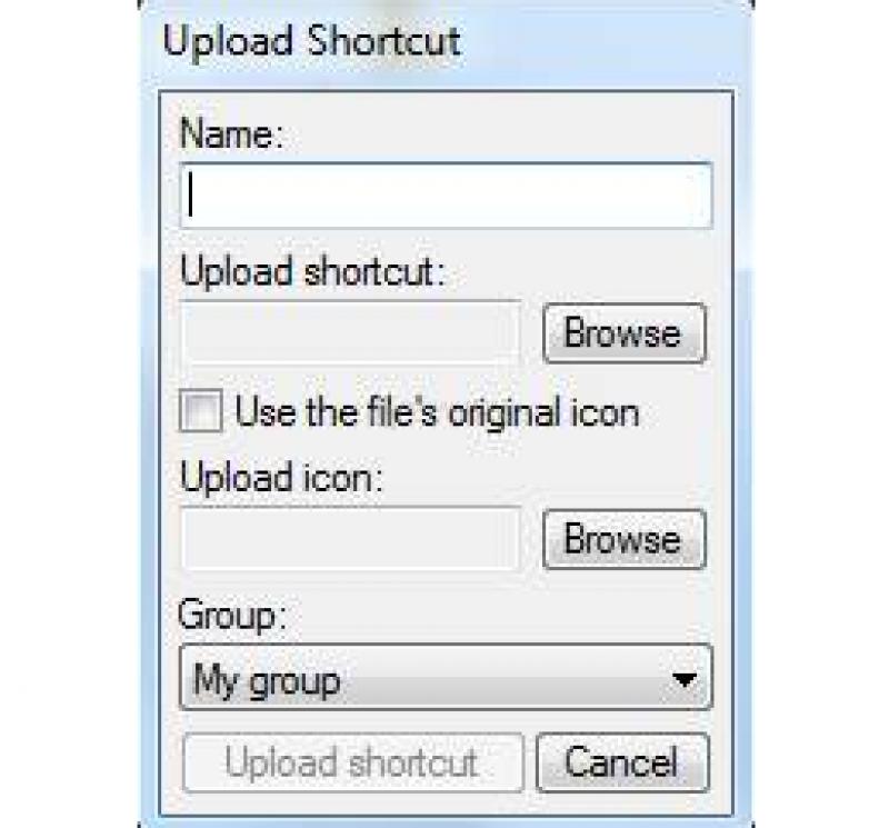 Pantallazo Shortcuts