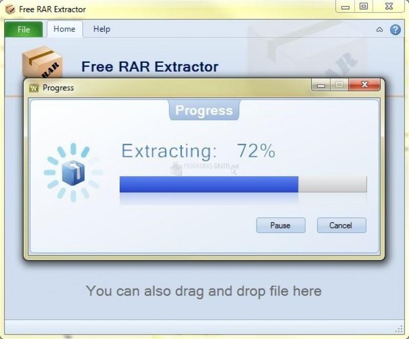 Pantallazo RAR Extractor
