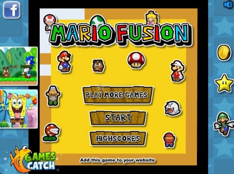 Pantallazo Mario Fusion