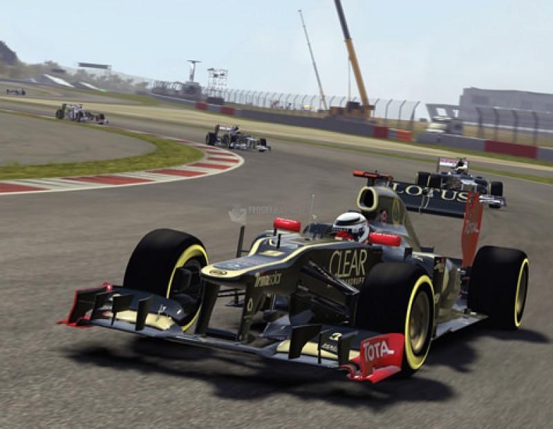 Pantallazo F1 2012