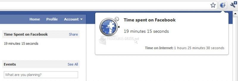 Pantallazo Facebook Runner Firefox