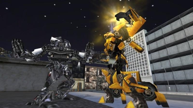 Pantallazo Transformers The Game