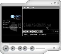 Pantallazo Fusion Media Player