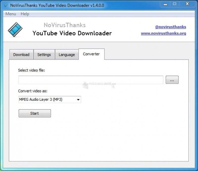 Pantallazo YouTube Video Download