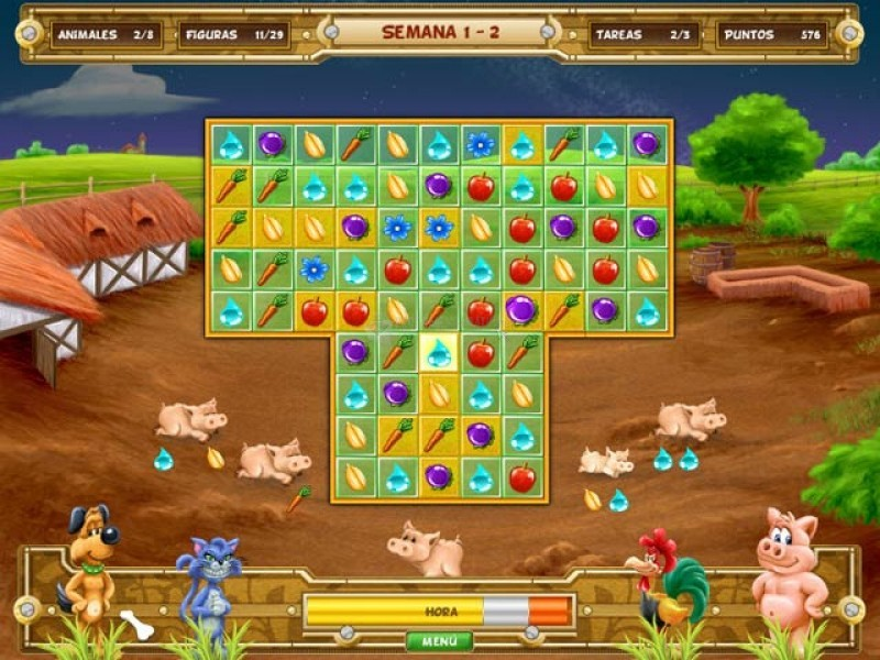 Pantallazo Farm Quest