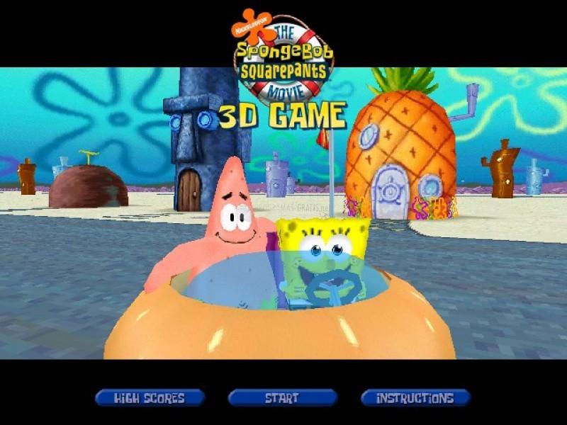 Pantallazo SpongeBob SquarePants 3D