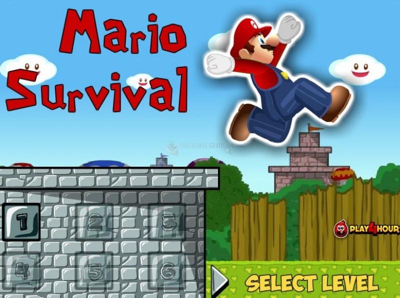 Pantallazo Mario Survival