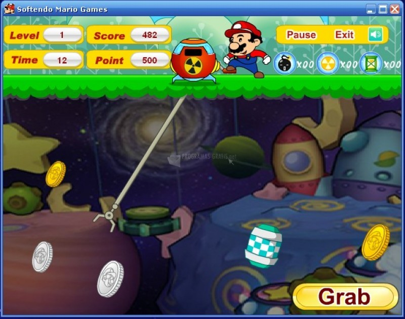 Pantallazo Super Mario Miner