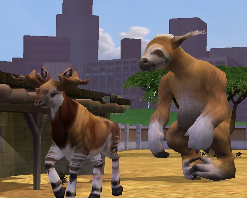 Pantallazo Zoo Tycoon 2: Extinct Animals