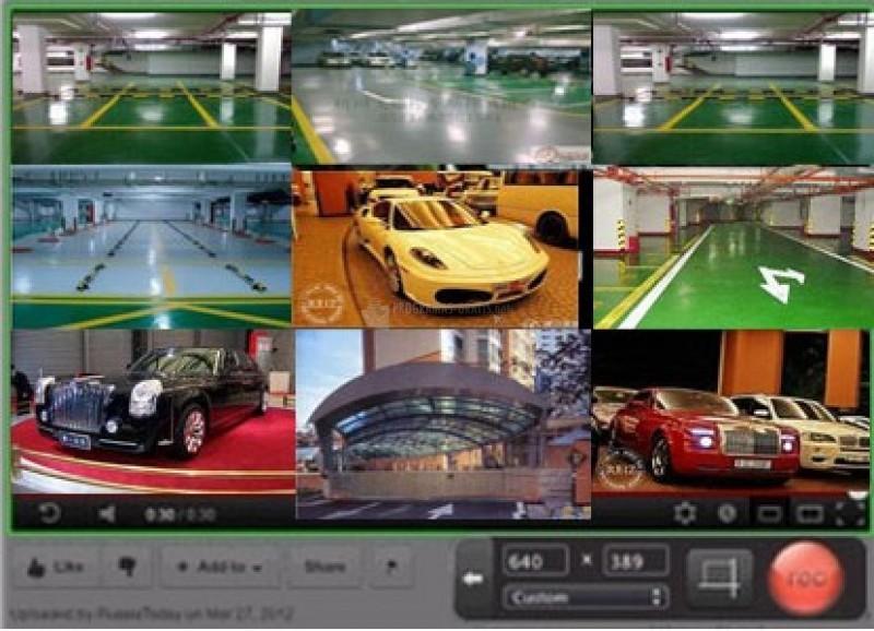 Pantallazo FUJITSU Webcam Software