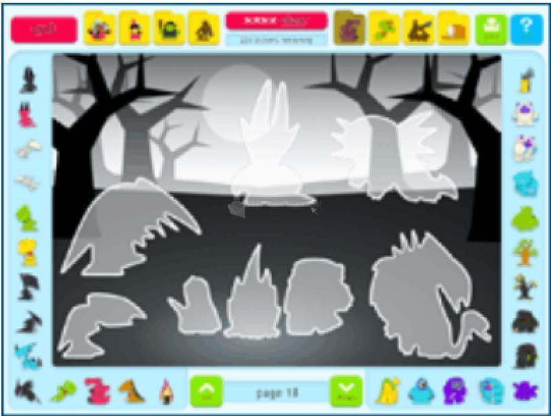 Pantallazo Sticker Activity Pages 2: Fantasy World