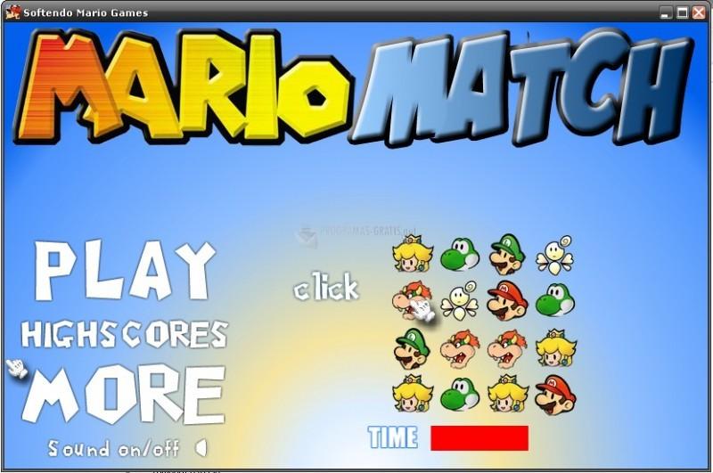 Pantallazo Super Mario Bros Match