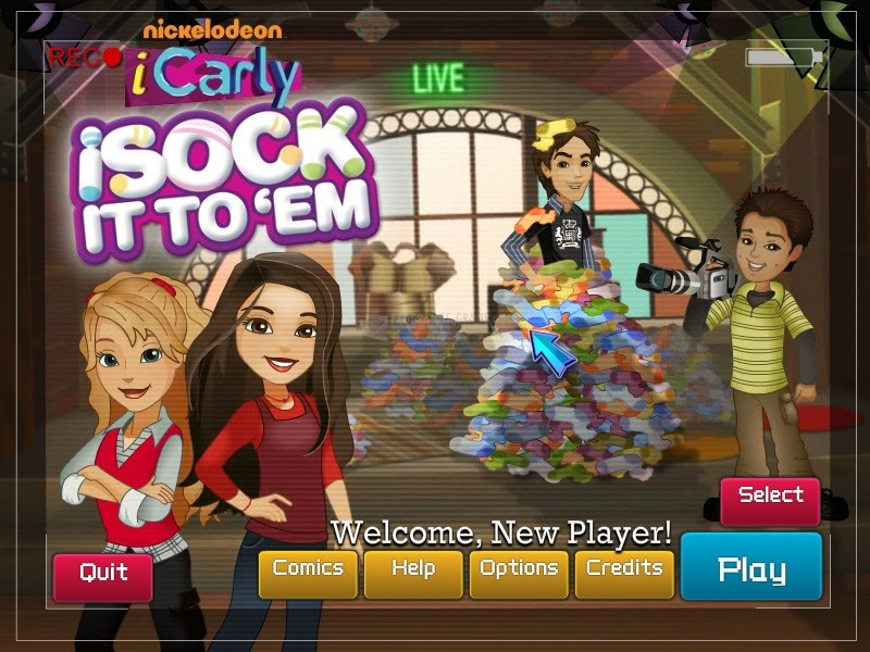 Pantallazo iCarly: iSock it to `Em