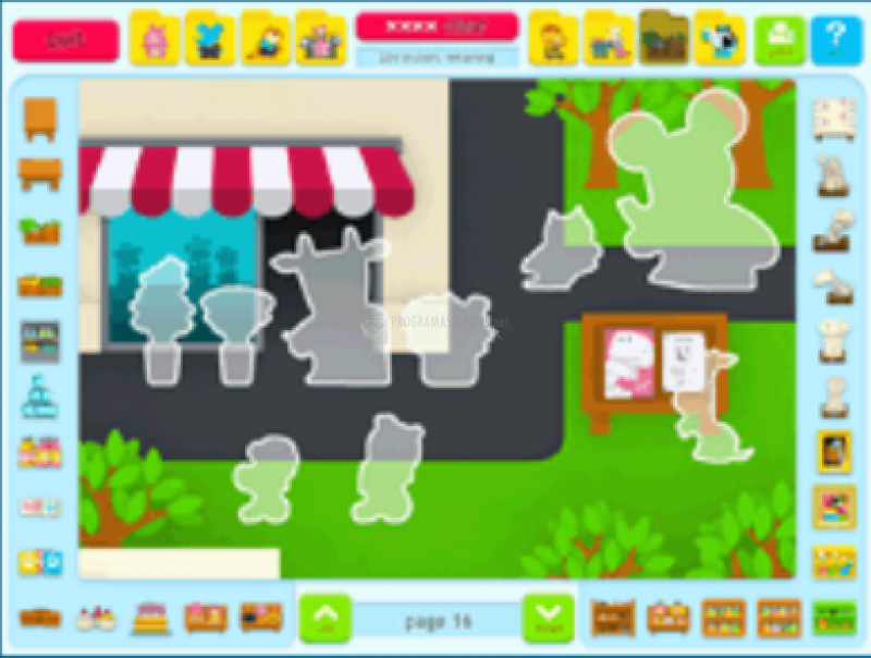 Pantallazo Sticker Activity Pages 3: Animal Town