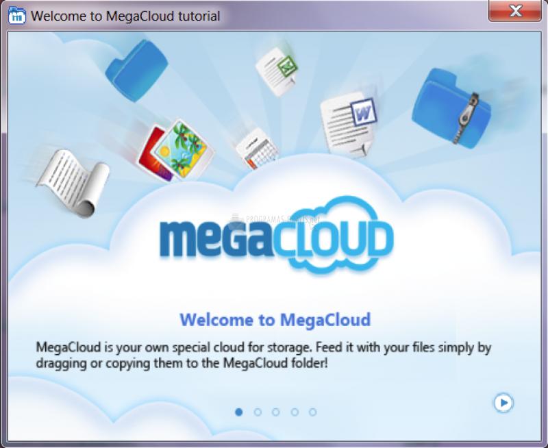 Pantallazo MegaCloud