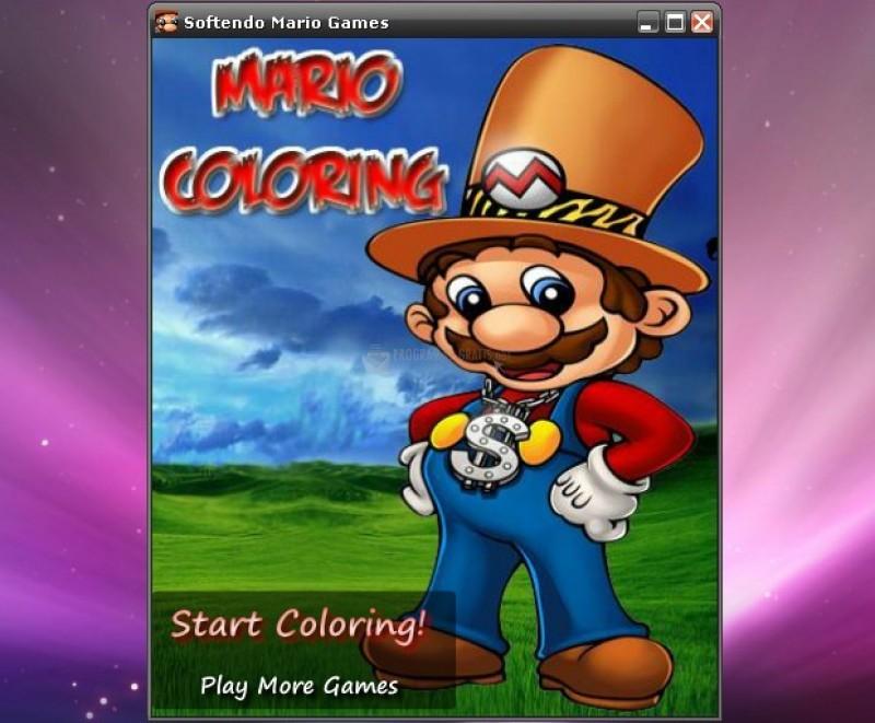 Pantallazo Mario Coloring