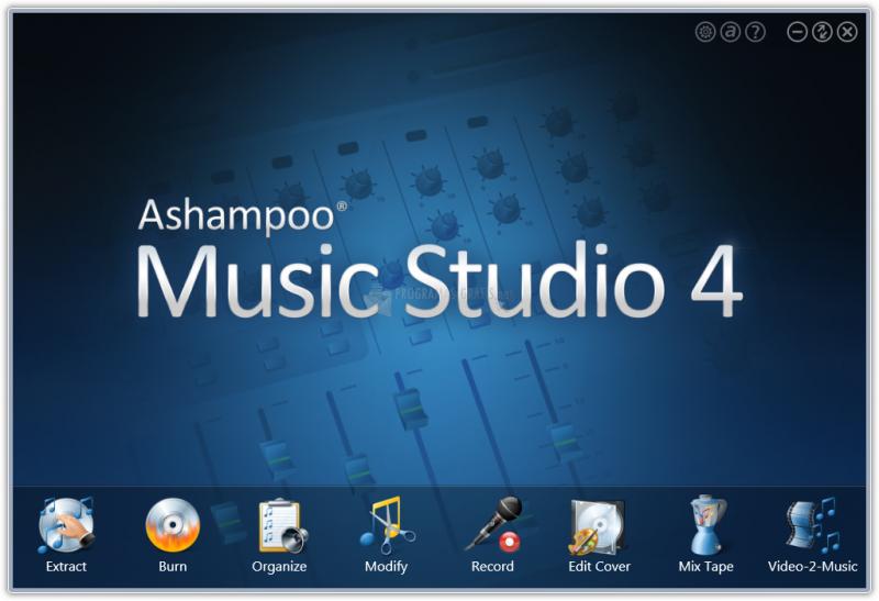 Pantallazo Ashampoo Music Studio