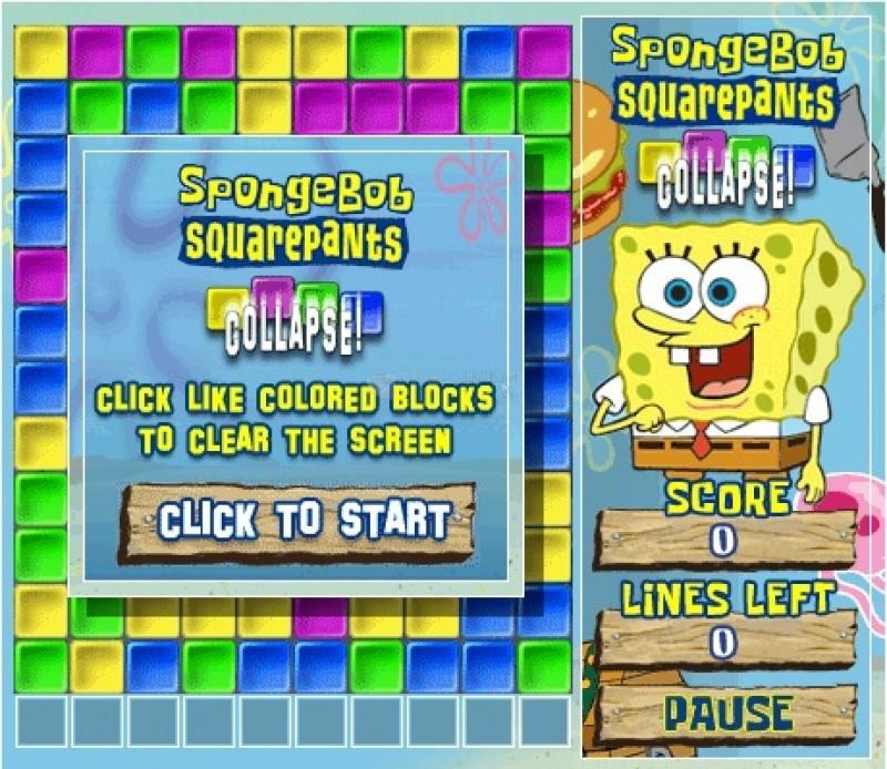 Free Download Game SpongeBob SquarePants Collapse! Full Version - Ronan Elektron